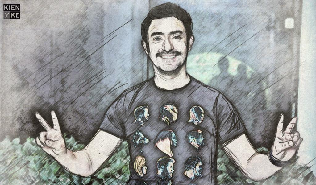 El humor salvó a Iván Marín hasta de la muerte