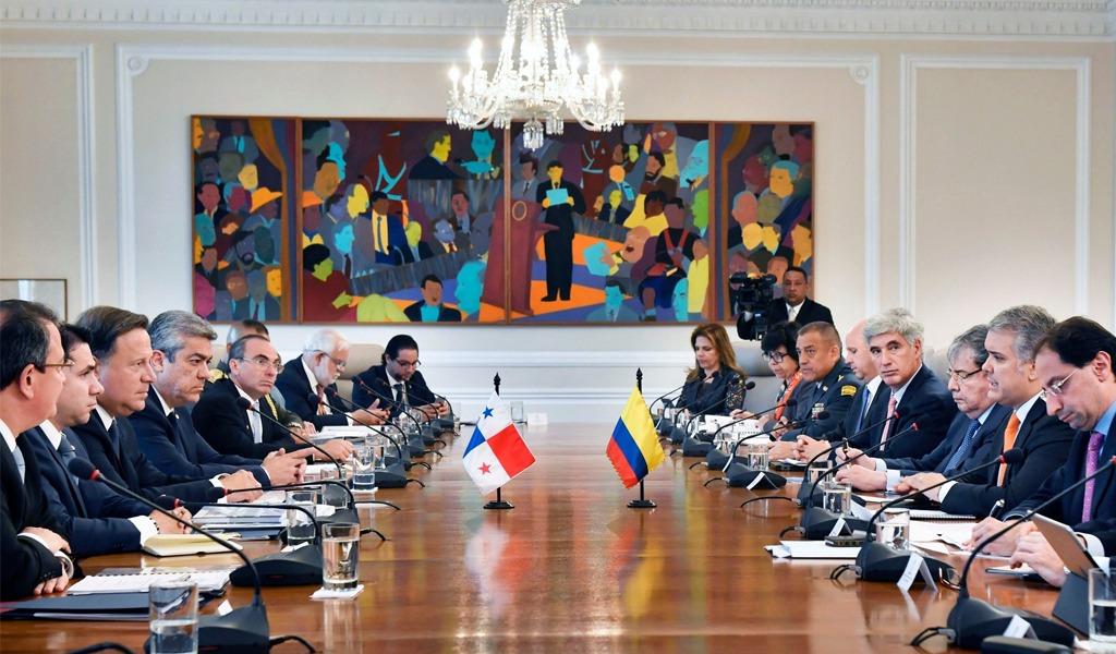 Colombia y Panamá firman acuerdo de seguridad