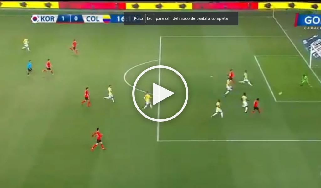 Corea del Sur vs Colombia