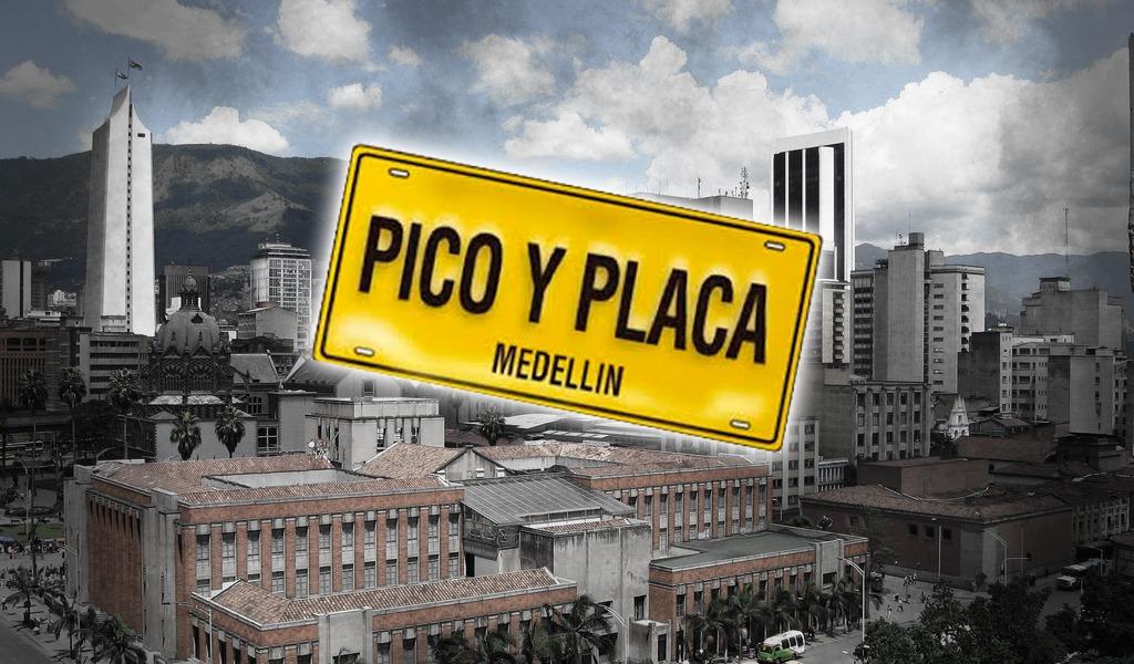 Nuevo pico y placa en Medellín por mala calidad del aire