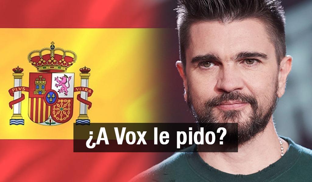Juanes canción política España