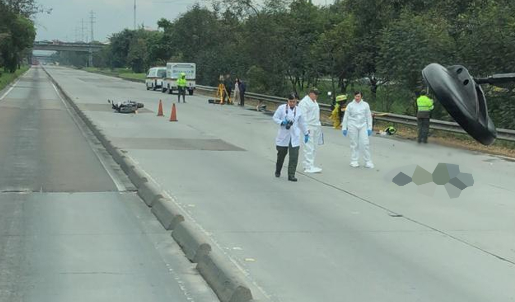 Accidente en Bogotá deja un motociclista muerto