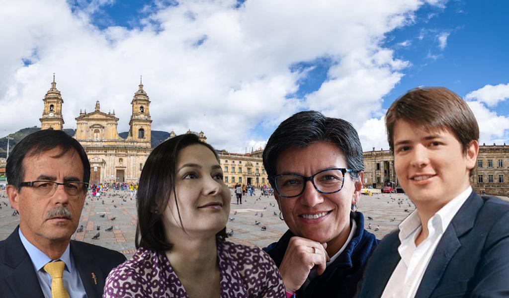 Candidatos a Alcaldía de Bogotá exaltan a las mujeres