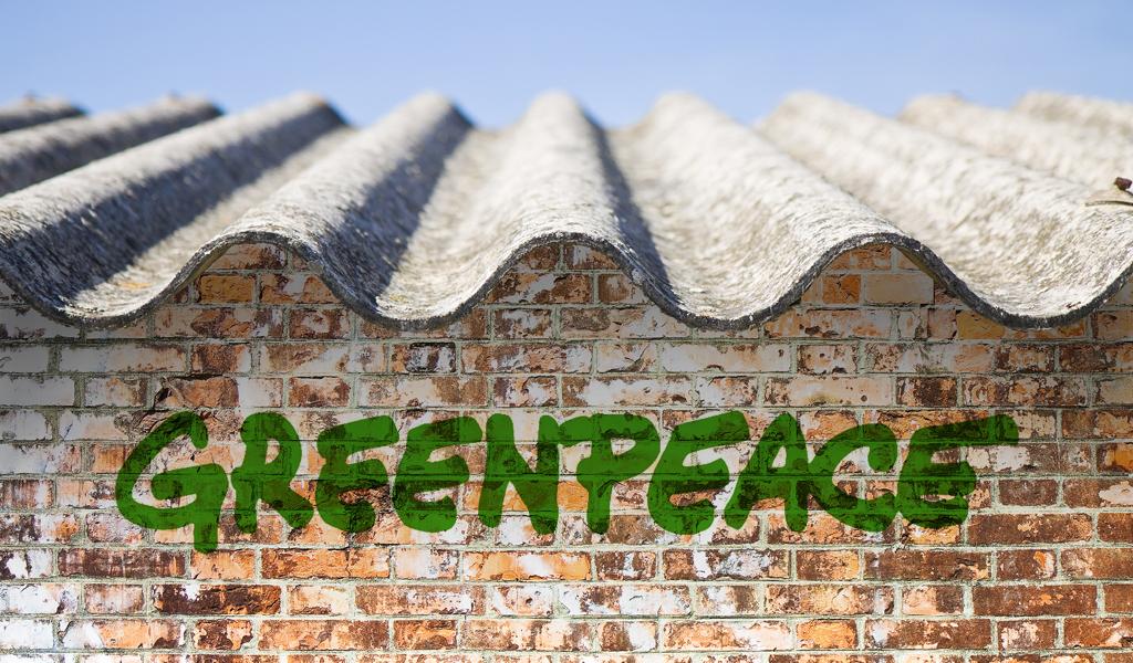 """Greenpeace llama """"histórico"""" el fallo contra el asbesto"""