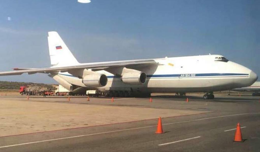Aviones rusos arriban a suelo venezolano