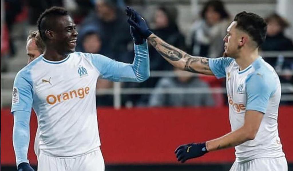 Mario Balotelli celebración gol