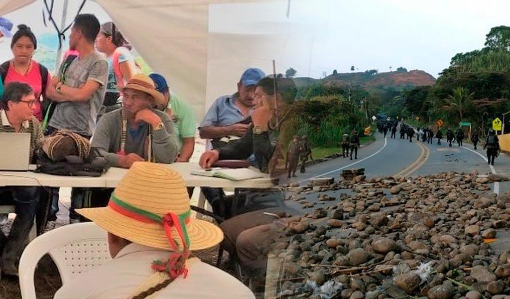 Indígenas convocan a una Minga en Cauca