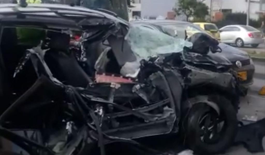 Bogotá: grave accidente se registra en la Avenida Suba