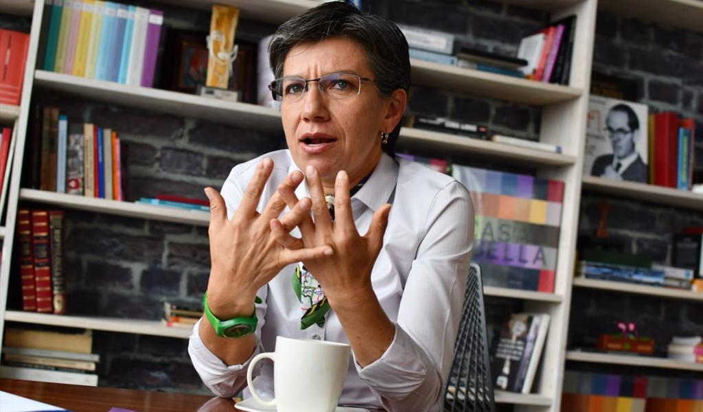 El mensaje de Claudia López sobre el paro nacional