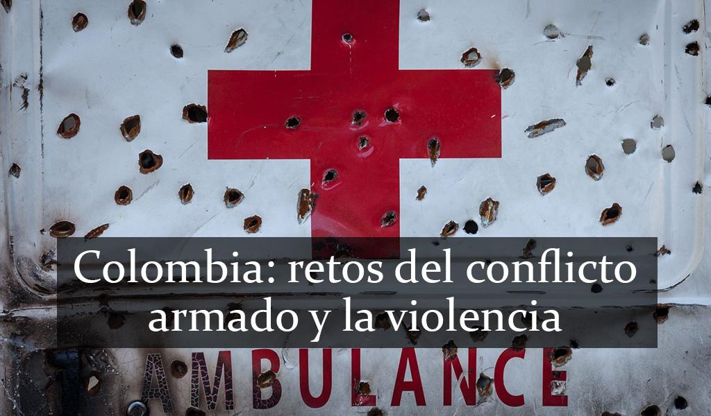 """""""Preocupa la situación de conflicto de Colombia"""": CICR"""