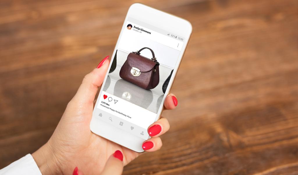Instagram habilitó la opción de comprar por la aplicación