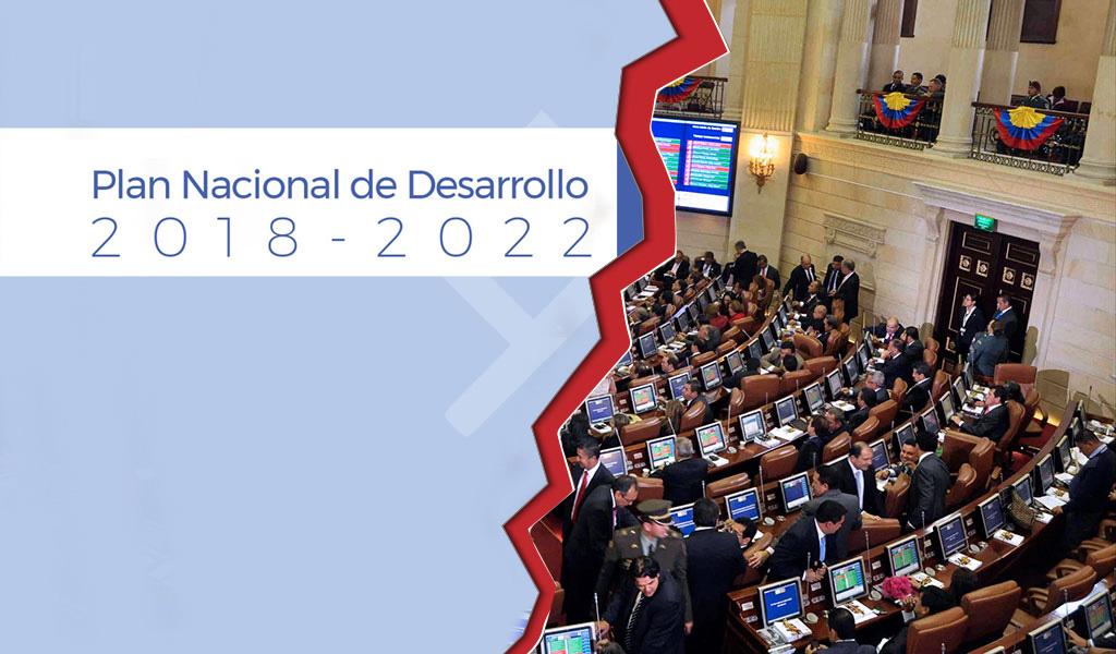El PND enfrenta su hora decisiva en el Congreso