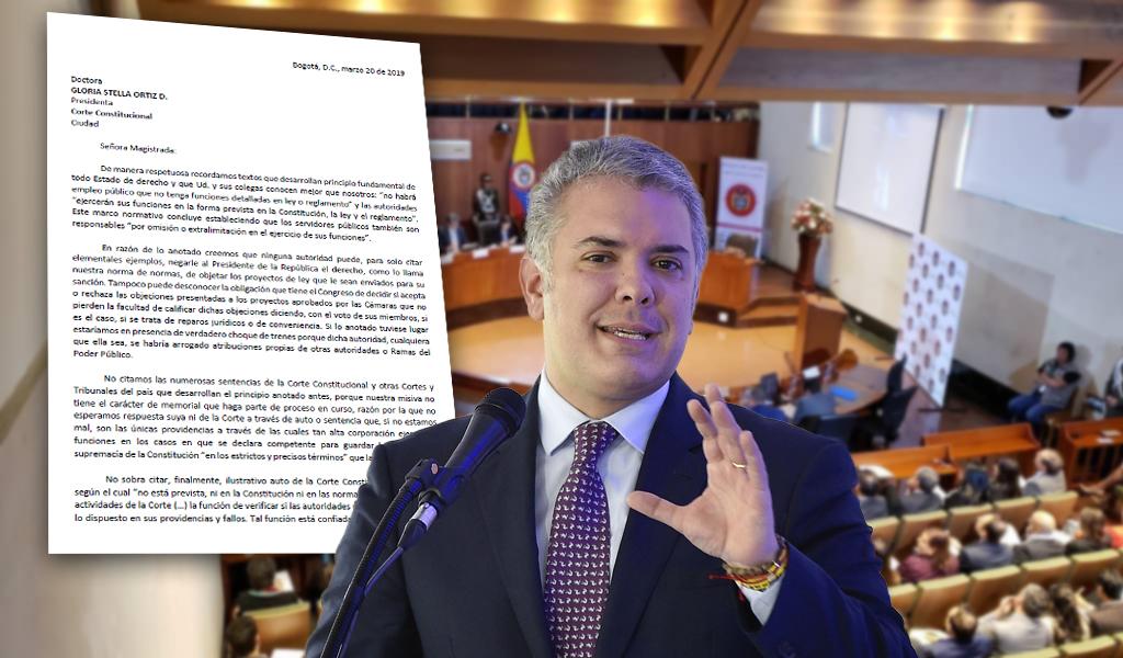 """""""Duque tiene el derecho de objetar"""": Juristas a la Corte"""
