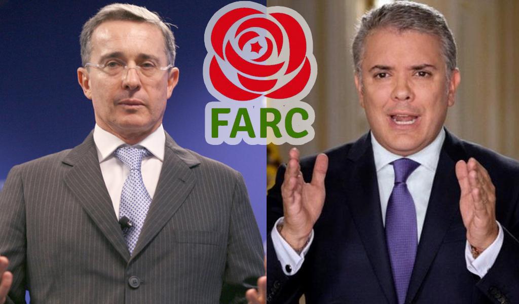 """""""Uribe lidera golpe de Estado contra Duque"""": Farc"""
