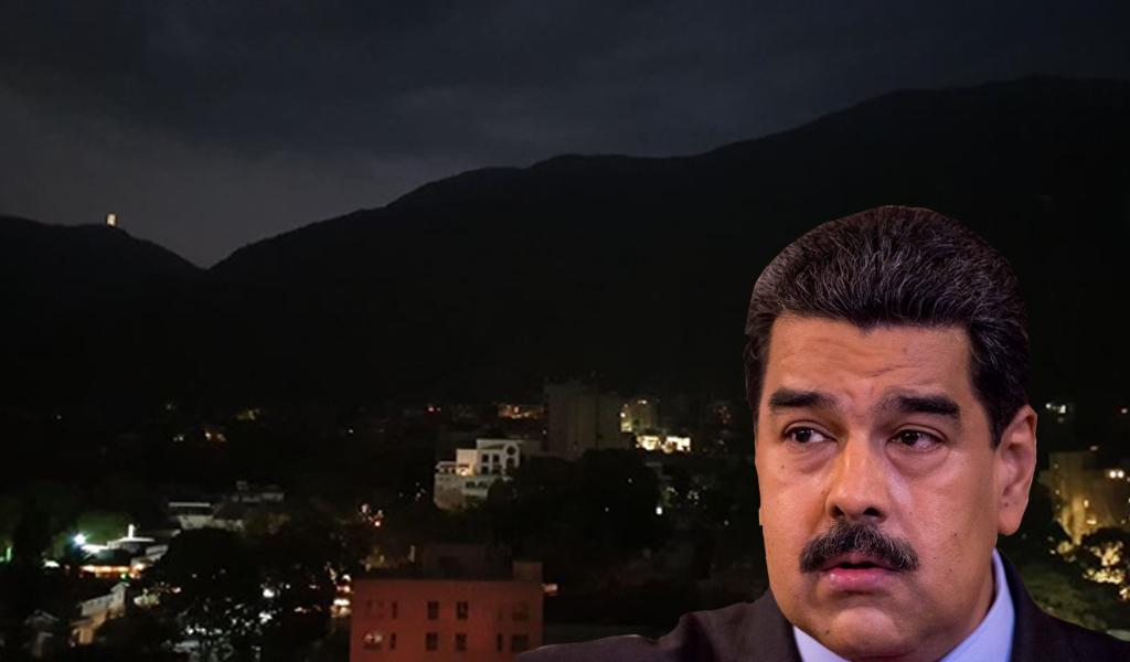 Maduro suspende actividades laborales por apagón nacional