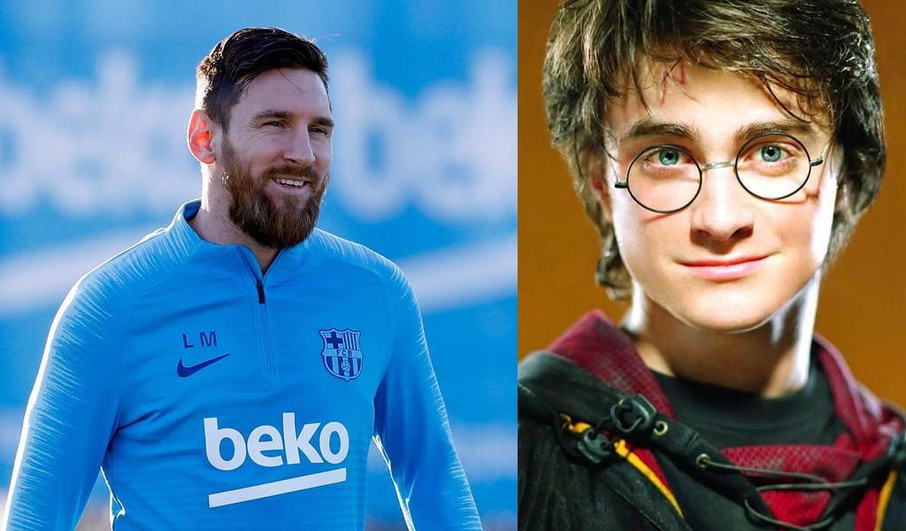 La magia de Lionel Messi y sus hijos