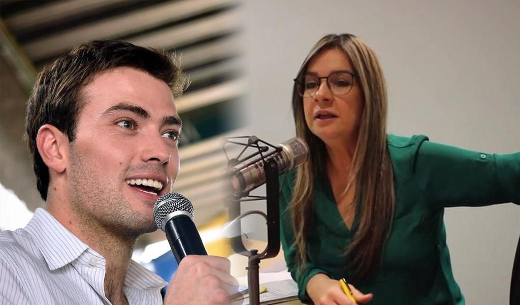 Respuesta de Esteban Santos a Vicky Dávila