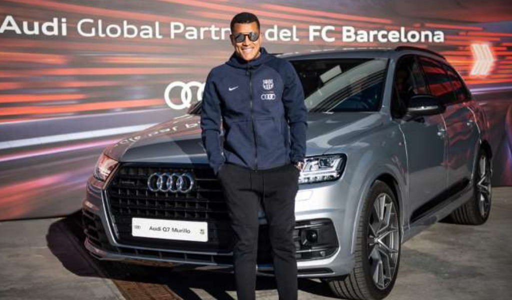 El lujoso carro que Jeison Murillo recibió en Barcelona