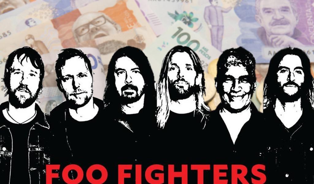 Esto cuesta ver a los Foo Fighters en Bogotá