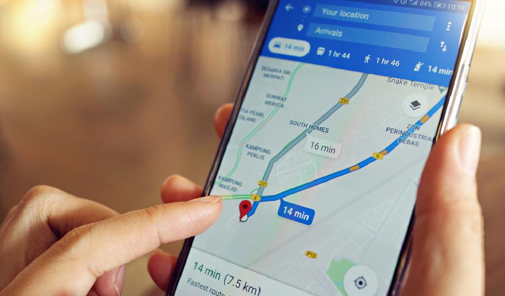 La nueva actualización de Google Maps