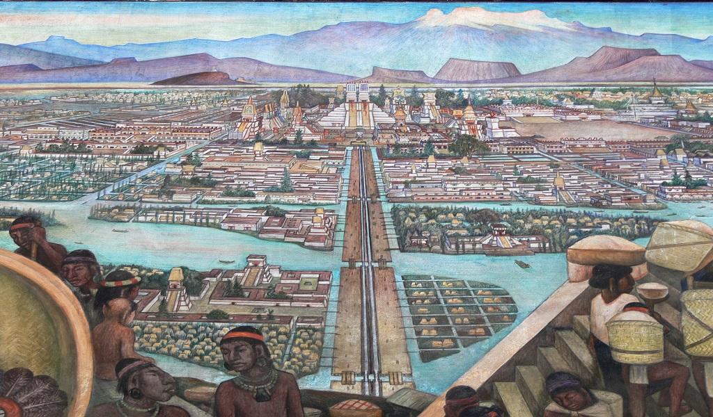 El escudo que demuestra la grandeza de Tenochtitlán