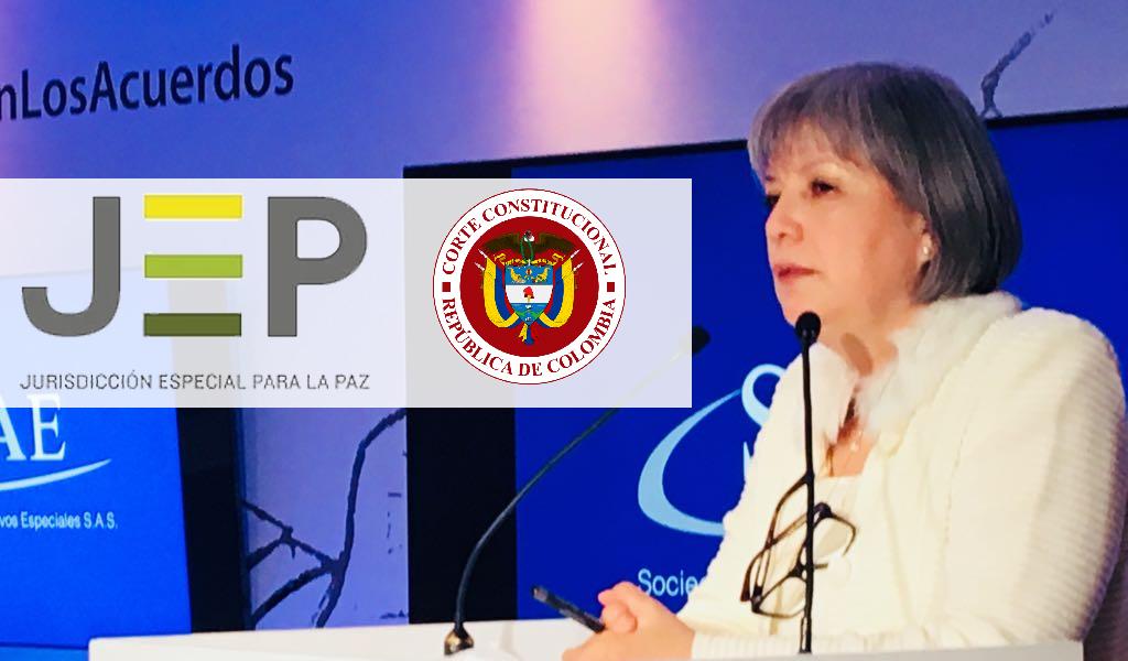 """""""Decisiones de la Corte dan tranquilidad al país"""": JEP"""