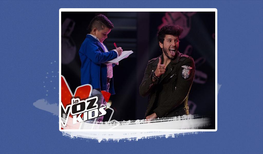 Padre de participante de La Voz Kids se robó suspiros