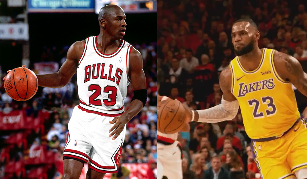 chaussures de séparation 52f2f 37988 LeBron James supera a Michael Jordan en número de puntos ...