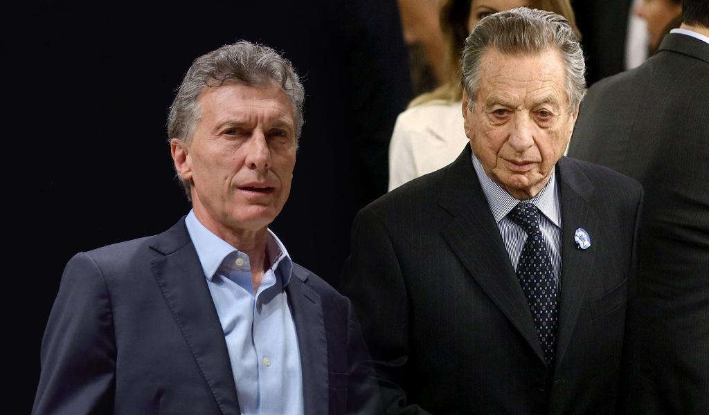 Macri admitió delitos de su padre en una entrevista