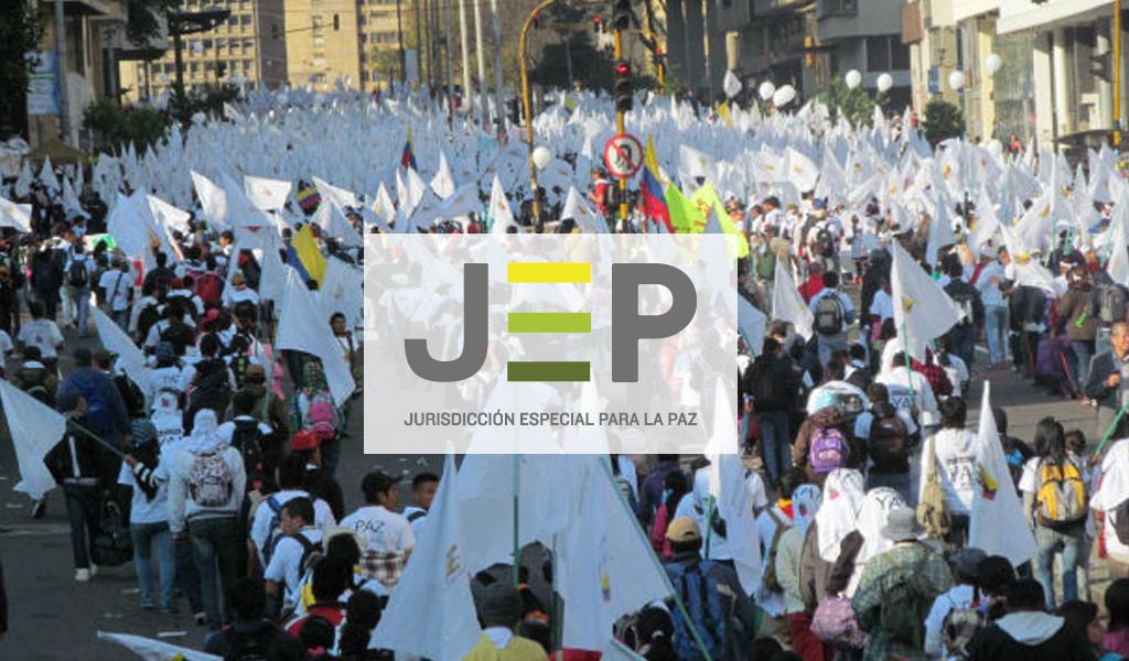 JEP: Una marcha en defensa de la institucionalidad