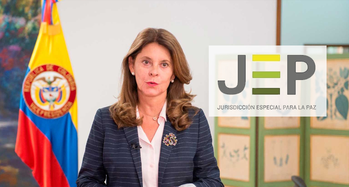 """""""No hay choque de trenes"""": Vicepresidenta a Goebertus"""