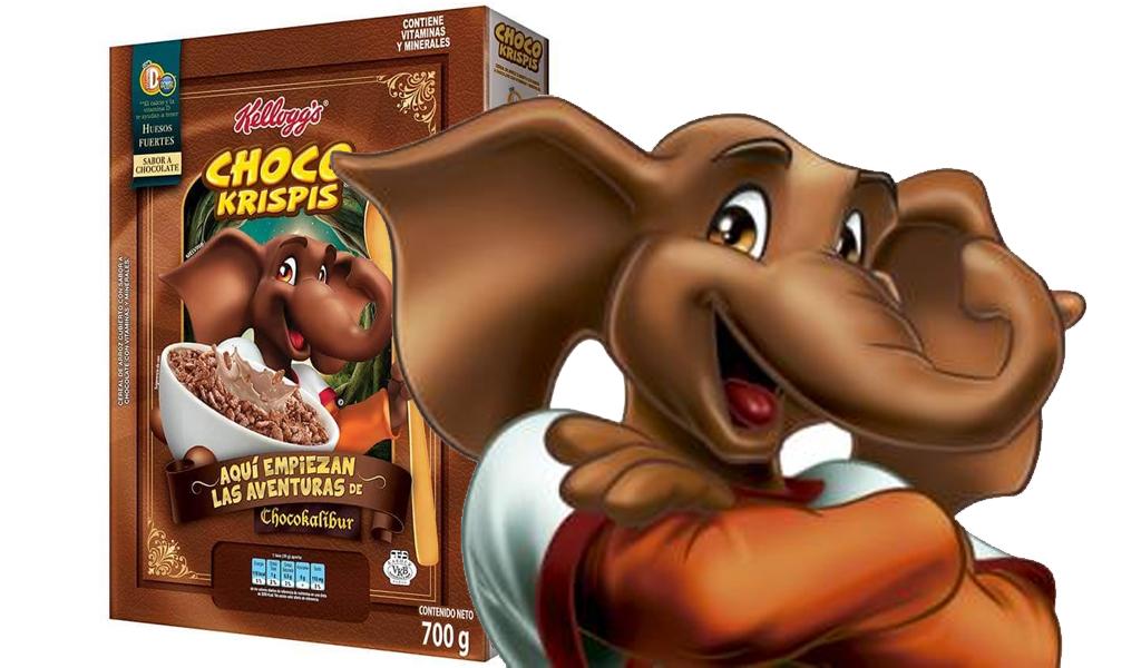 Adiós Melvin, llega un nuevo elefante a Choco Krispis