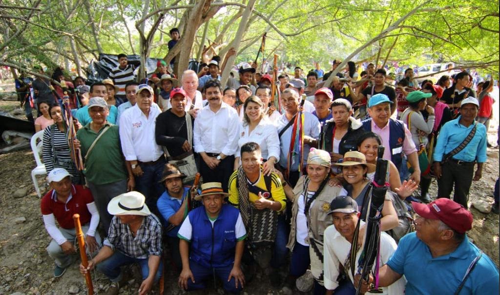 minga indígena Huila