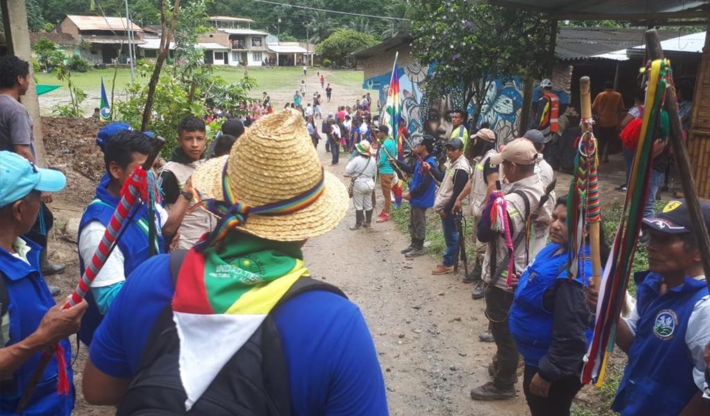 Más comunidades indígenas se suman a la protesta