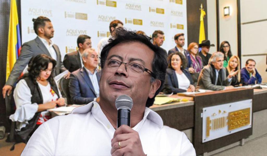 """Petro cuestiona al Verde: """"No firmaron ponencia negativa"""""""