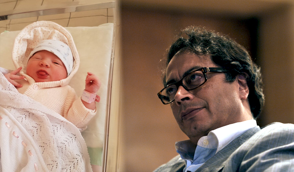 Gustavo Petro presentó a su segunda nieta: Victoria