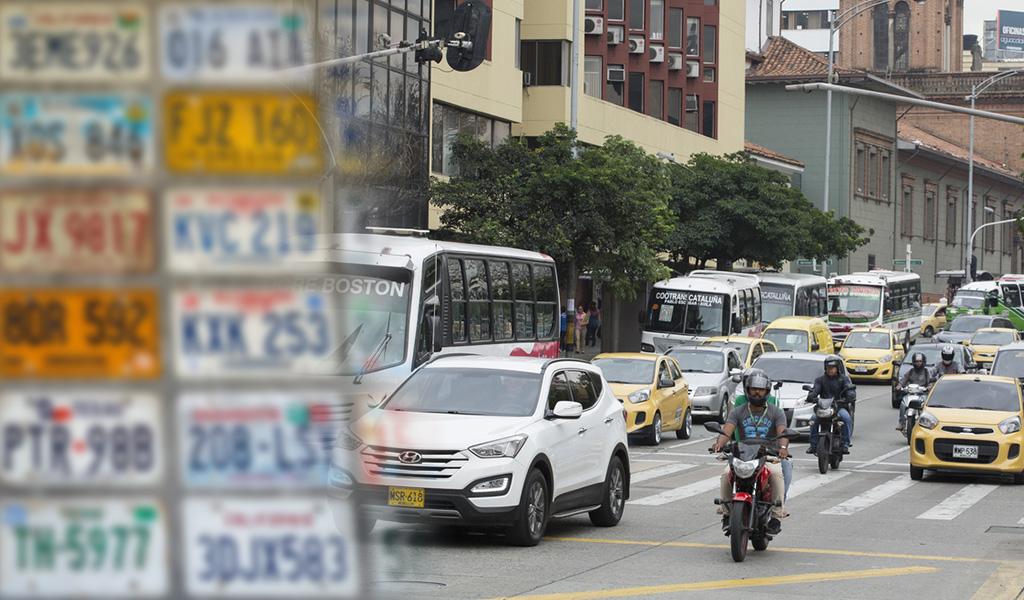 Estas son las vías exentas de pico y placa en Medellín