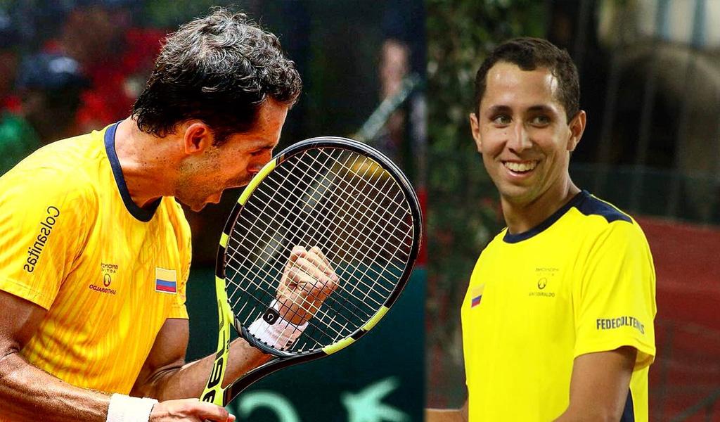 Galán y Giraldo luchan en el Ranking ATP