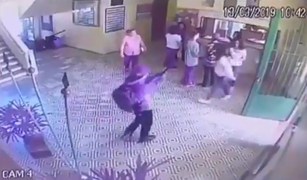 Así ocurrió la brutal matanza en un colegio de Brasil