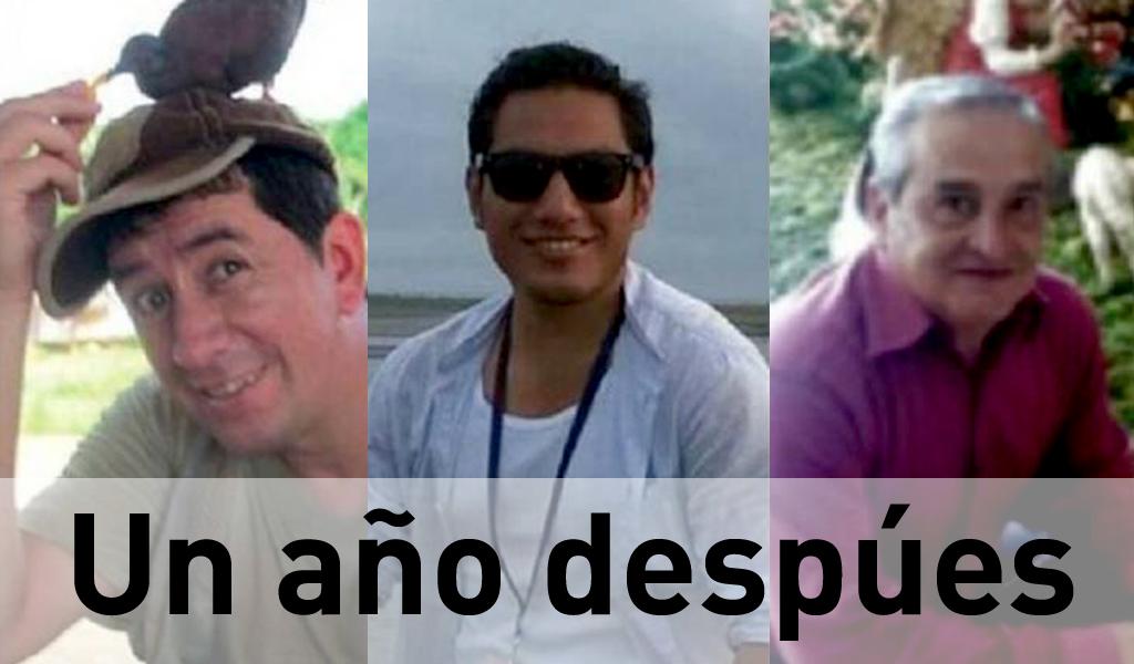 Hace un año fueron secuestrados periodistas de El Comercio