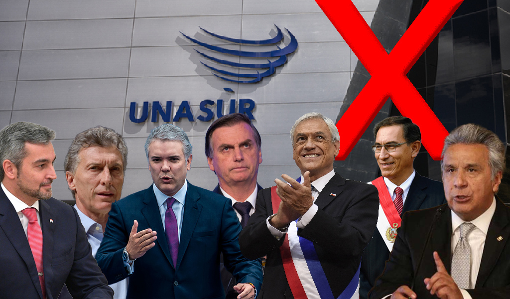 Presidentes de Suramérica listos para crear Prosur