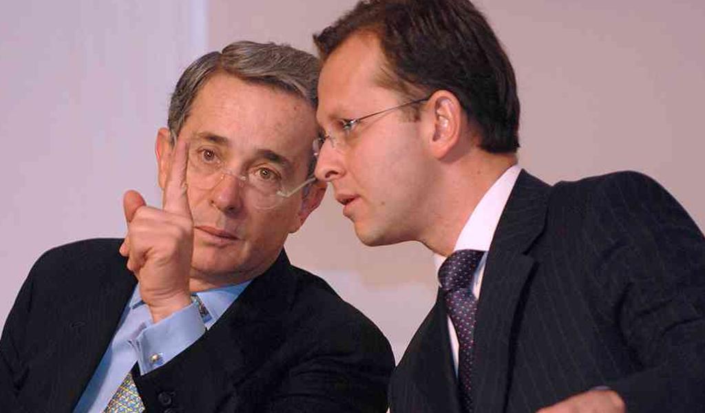 Álvaro Uribe se reunió con Andrés Felipe Arias