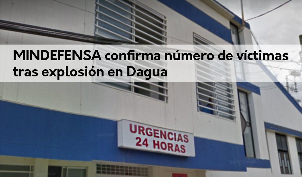 Mindefensa confirma siete personas muertas en Dagua