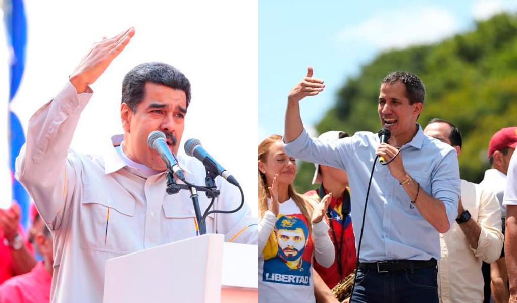 Maduro pide apoyo para iniciar diálogos con Guaidó