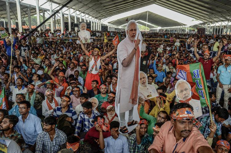 Ola nacionalista hindú divide más a India