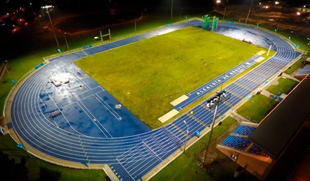 pista atletismo, unidad deportiva el salitre