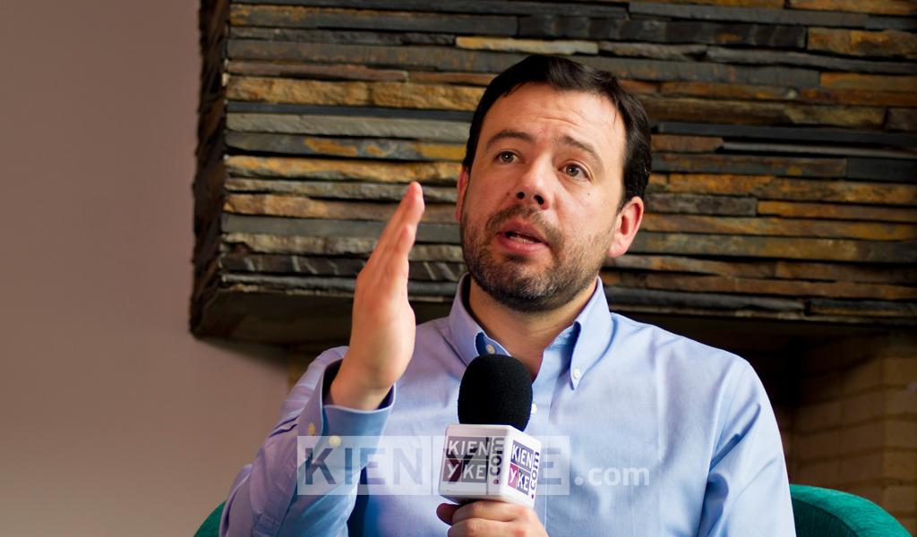 Carlos F. Galán se lanza a la Alcaldía de Bogotá