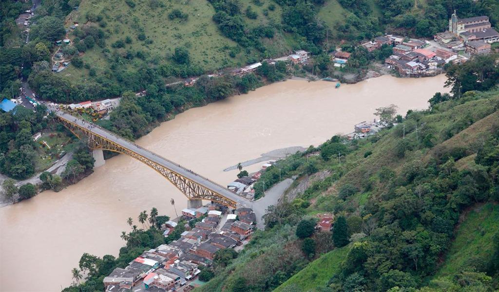 En alerta zona ribereña del río Cauca por aumento del caudal