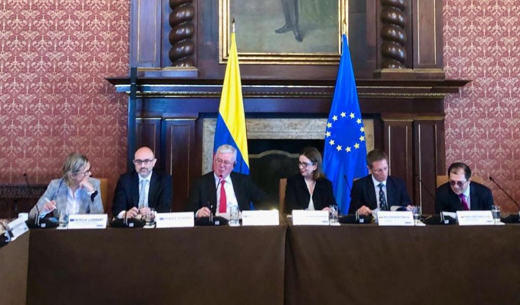 Colombia y la UE dialogan sobre derechos humanos