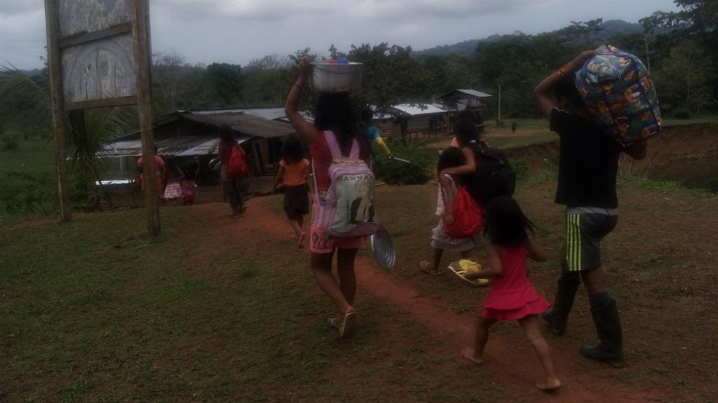 Confinamiento indígenas Cedral Chocó
